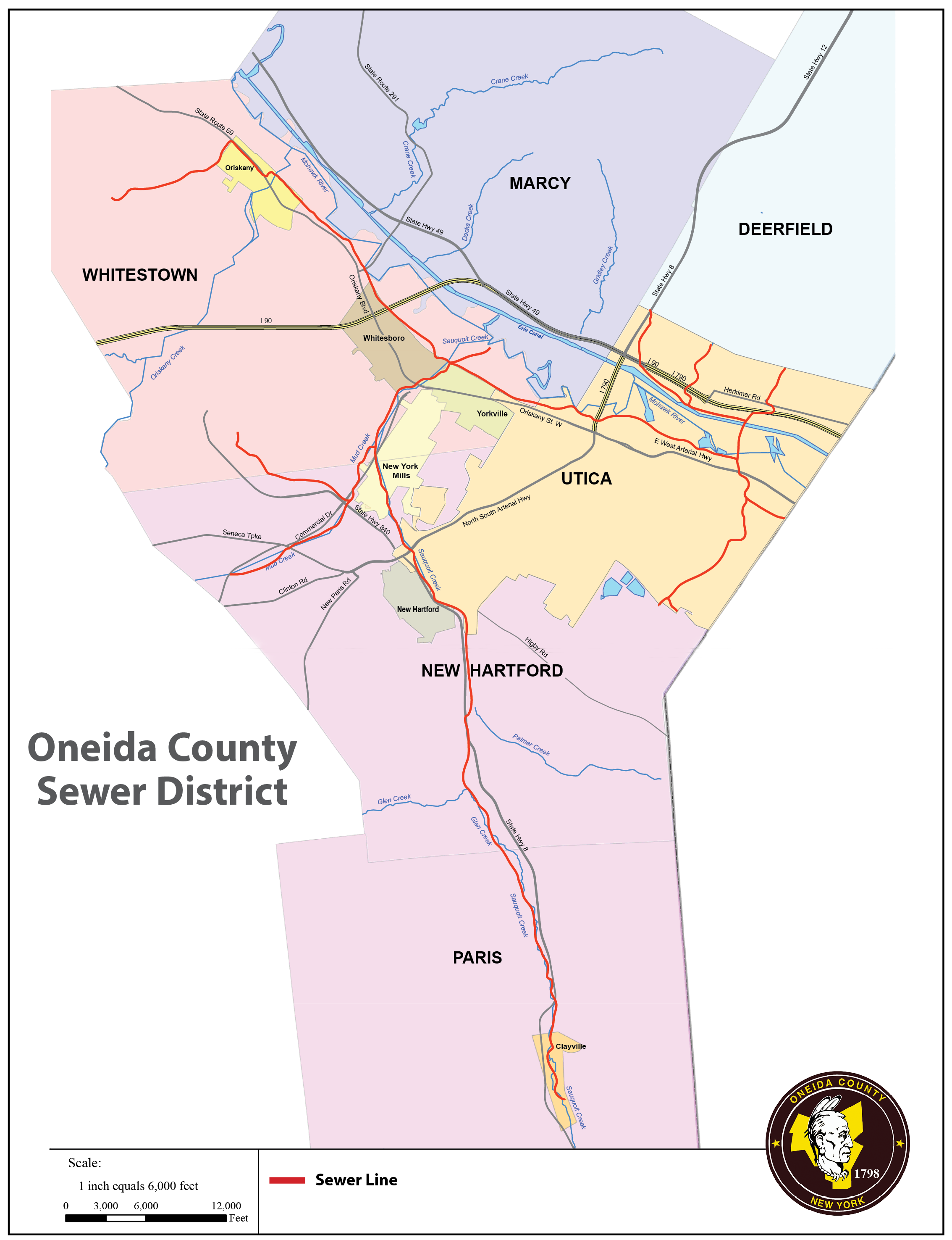 OCSD Map for the Overflow Mitigation project